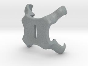 42mm, Metal Puck - Apple Watch Charging Clip in Polished Metallic Plastic