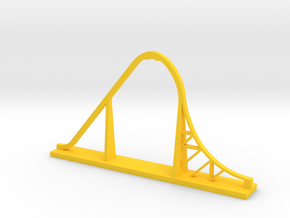 Skyrush Desk Model in Yellow Processed Versatile Plastic
