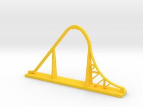Skyrush Desk Model in Yellow Processed Versatile Plastic