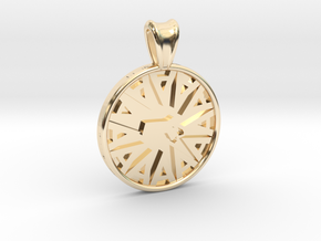 Ambit Energy Massachussets Pendant  in 14K Yellow Gold