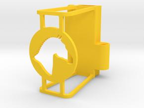 Ruff Style 2 in Yellow Processed Versatile Plastic