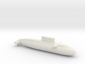 Kilo-Class, Full Hull, 1/2400 in White Natural Versatile Plastic