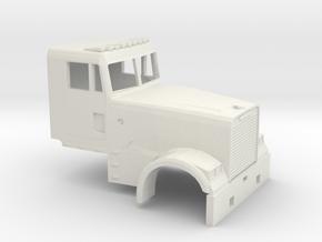1/87 Fld Classic Day Cab in White Natural Versatile Plastic