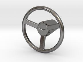 Shooter Rod Knob - v1 Cadillac Steering Wheel in Polished Nickel Steel