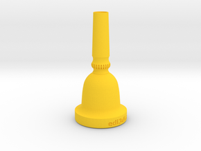 Contrabass Tuba Mouth Piece in Yellow Processed Versatile Plastic