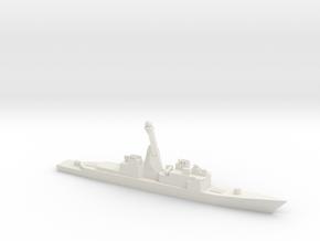 Aegis refitted Spruance, 1/1800 in White Natural Versatile Plastic