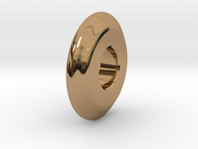 Close Encounters - UFO Spacer in Polished Brass
