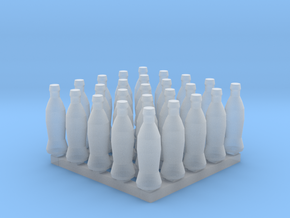Bottles of Cola x25 in Smoothest Fine Detail Plastic