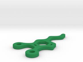 Dopamine Pendant in Green Processed Versatile Plastic