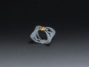 Elder Ring in White Natural Versatile Plastic