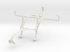 Controller mount for Xbox 360 & Sony Xperia E4g Du in White Natural Versatile Plastic