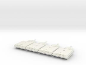 Alacran Light Tank Twin Laser in White Natural Versatile Plastic