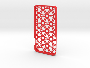 Iphone 6 Plus Circle case in Red Processed Versatile Plastic