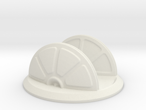 Large Shield Generator in White Natural Versatile Plastic