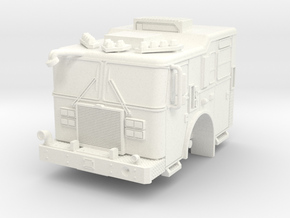 1/64 FDNY KME Pumper Cab in White Strong & Flexible Polished