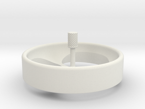 Spinning Top Revised in White Strong & Flexible