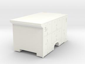 1/64 FDNY Scuba Body use F-450 Ambo Chasis in White Processed Versatile Plastic