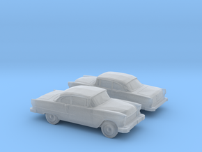 1/120 2X Chevy Belair in Smooth Fine Detail Plastic