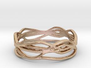 Ring Design 01 Ring Size 8 in 14k Rose Gold