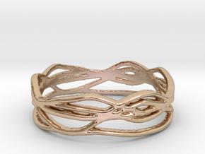 Ring Design 01 Ring Size 8.5 in 14k Rose Gold