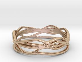 Ring Design 01 Ring Size 9.5 in 14k Rose Gold