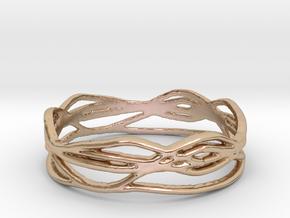 Ring Design 01 Ring Size 10 in 14k Rose Gold