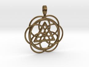 SPIRAL EYE in Natural Bronze