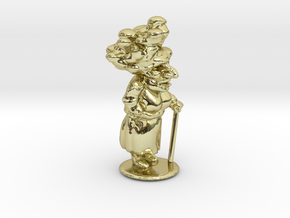 Granny in 18k Gold Plated Brass