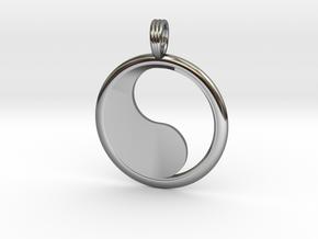 YIN-YANG HOLLOW in Premium Silver