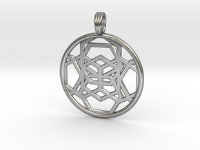 SHAMANIC GLYPH in Raw Silver