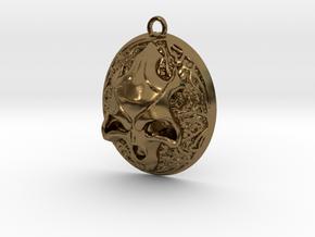 FELDOR pendant  in Polished Bronze