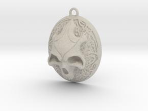 FELDOR pendant  in Natural Sandstone