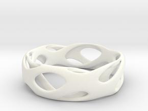 Frohr-design-bracelet-7.10.2015-2 in White Processed Versatile Plastic