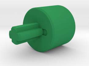 OP-1 Brick Shaft in Green Processed Versatile Plastic