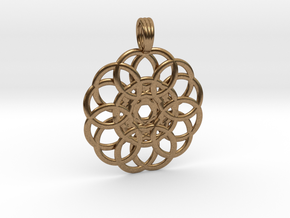 WELLSPRING in Natural Brass