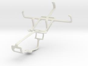 Controller mount for Xbox One & Icemobile Apollo 3 in White Natural Versatile Plastic