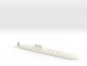 Typhoon Submarine, 1/1250 in White Natural Versatile Plastic