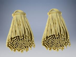 Diffusion Earrings in 14K Gold