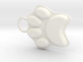 Pawrt in White Processed Versatile Plastic