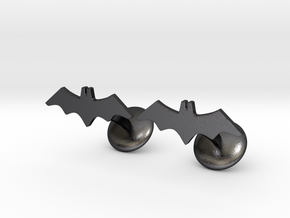 Batman Vengeance Cufflink in Polished Grey Steel