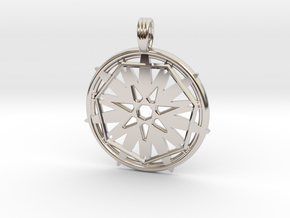 STARFIRE SEVEN in Rhodium Plated