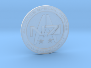 Alliance Special Forces Badge in Smooth Fine Detail Plastic
