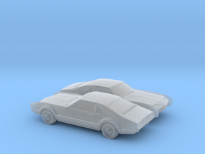 1/160 2X 1966 Oldsmobile Toronado in Smooth Fine Detail Plastic