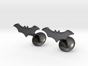 Batman Dead End Cufflinks in Polished Grey Steel