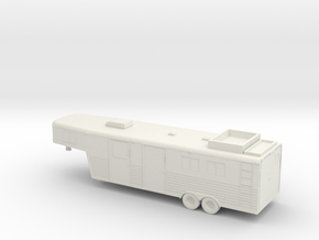1/87 Horse Trailer in White Strong & Flexible
