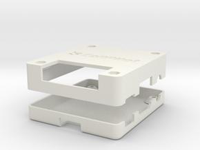 Cellpilot Case in White Natural Versatile Plastic