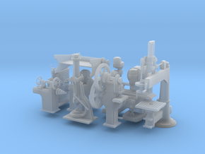 Machine Tools O Scale Master Collection  in Frosted Extreme Detail