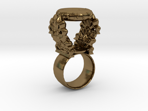 """Quit The Typical"" Ring (Size 5) in Polished Bronze"