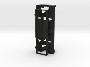 DNA200 mixNmatch - EasyMount oLED n Battery Sled in Black Natural Versatile Plastic