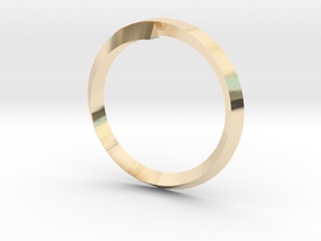(T)Ring(le) in 14k Gold Plated Brass